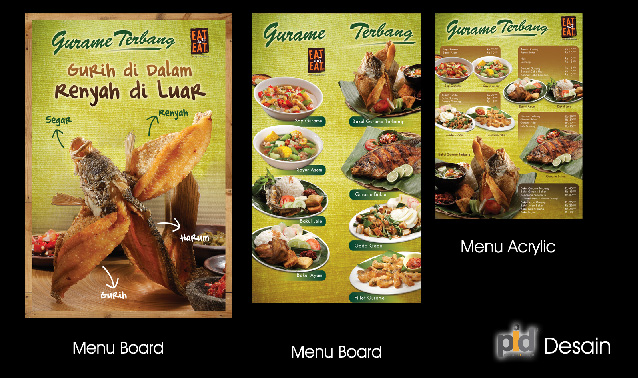 menu food court
