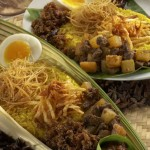 yellow rice dishes 150x150 FOTOGRAFER MAKANAN INDONESIA