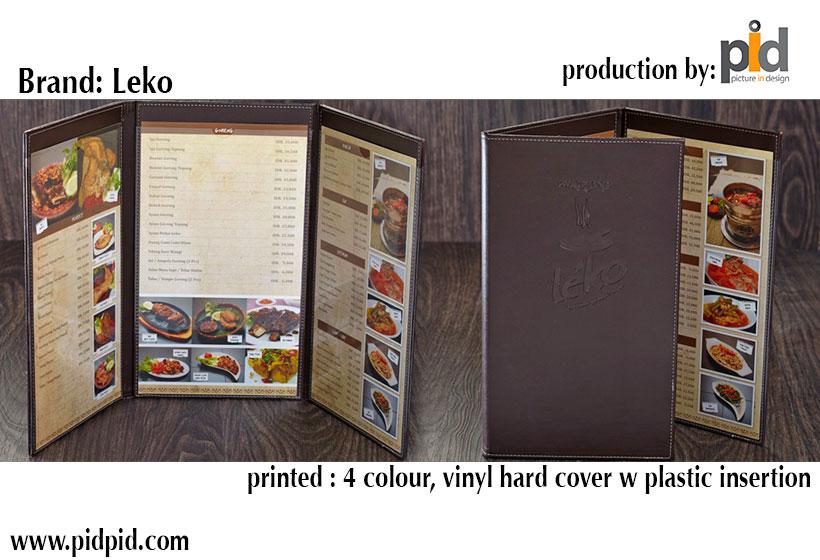 cetak menu restoran