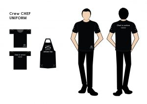 Crew-chef-uniform