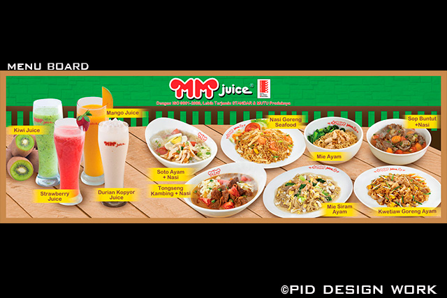 desain restoran menu